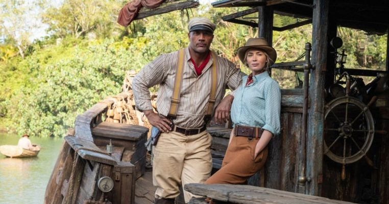 Review: Blunt, Johnson's charisma can't rescue 'Jungle Cruise'