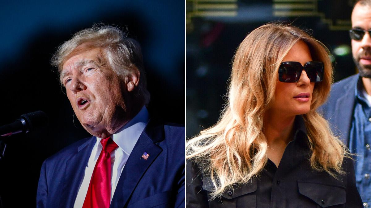 As Donald Trump makes noise about 2024, Melania Trump tries to stay out of the public eye