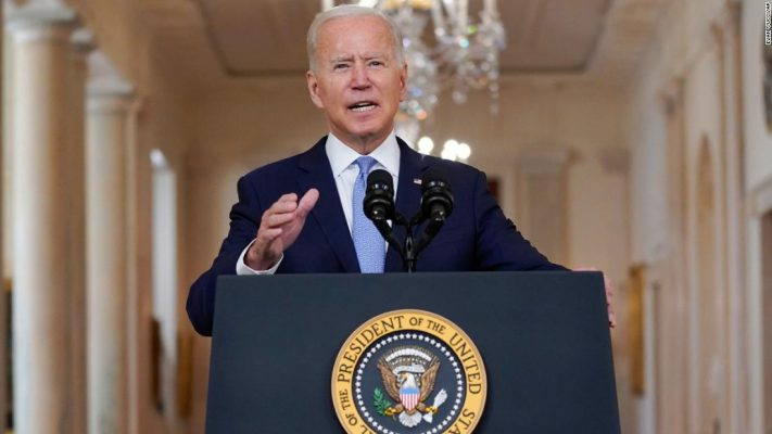 Biden gives a defiant defense of the withdrawal from Afghanistan: 'I was not extending a forever exit